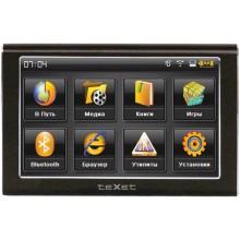 GPS-навигатор teXet TN-500BT