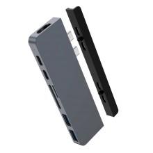 Хаб HYPER Drive USB Type-C Gray (HD28C-GRAY)