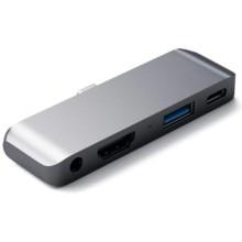 Хаб Satechi Aluminum Mobile Pro Hub Space Gray (ST-TCMPHM)