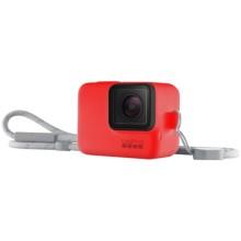 Чехол для экшн-камер GoPro Sleeve + Lanyard Red (ACSST-012)