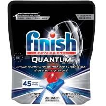 Моющее средство для посудомоечной машины Finish Quantum Ultimate, 45 капсул
