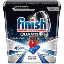 Капсулы для посудомоечных машин Finish Quantum Ultimate, 45 капсул