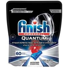 Моющее средство для посудомоечной машины Finish Quantum Ultimate, 60 капсул