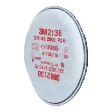 Фильтры для масок 3M от аэрозолей/запахов Р3, 2 шт (2138)