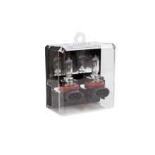 Лампы автомобильные Kraft H11 55W PGJ19-2 Pro + 80%, 2 шт (KT 700231)