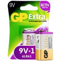 Батарейка GP Extra Alkaline, крона, 9V, 1 шт (1604AXNEW-5CR1)