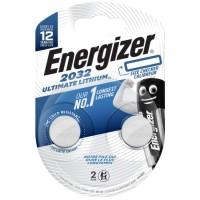 Батарейки Energizer Ultimate Lithium CR2032 BP2, 2 шт. (E301319300)