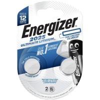 Батарейки Energizer Ultimate Lithium CR2025 BP2 2 шт. (E301319400)