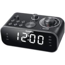 Часы с радио Telefunken TF-1593 Black/White