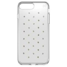 Чехол Speck Presidio Clear + Prints для iPhone 7 Plus, серебряный/прозрачный (79985-5752)