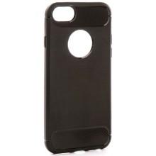 Чехол EVA для iPhone 6/6S, черный/карбон (IP8A012B-6)