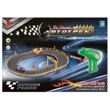 Автотрек 1toy На старт!: Ночные гонки, 2 машины (Т10183)