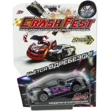 Инерционная машинка 1toy CrashFest: Ghost Racer, 10 см (Т17090-20)