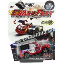 Инерционная машинка 1toy CrashFest: Rabbit, 10 см (Т17090-21)