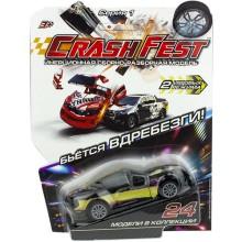 Инерционная машинка 1toy CrashFest: Vantage, 10 см (Т17090-8)