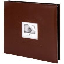 Альбом для фотографий Brauberg Smooth Brown, 10х15 см, на 500 фото (391177)