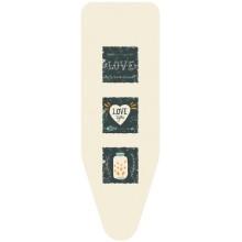 Чехол для гладильной доски Colombo Hypster Love M, 124х46 V1