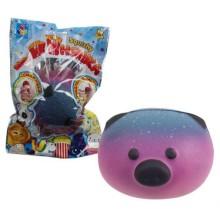 Игрушка-антистресс 1toy Мммняшка Squishy: Мишка-шар (Т14036)