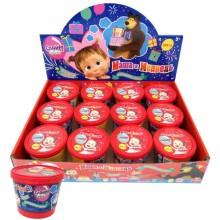 Детский игровой набор МАША И МЕДВЕДЬ Т16585 Слайм-мяшка Маша и Медведь с сюрпризом