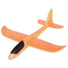 Планер Bradex DE 0455 большой, размах крыльев 48 см, оранжевый