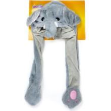 Шапка детская 1toy Хлоп-Ушки: Слон (Т17631)