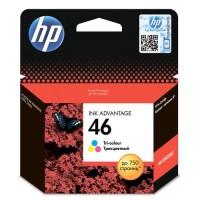 Картридж HP для струйного принтера HP 46 Tri-Colour Ink CZ638AE