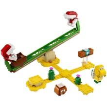 Конструктор Lego Super Mario: Мощная атака Растения-пираньи (71365)