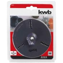 Оправка для пильных коронок kwb HEX d73-113 мм (499432)