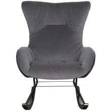 Кресло-качалка GARDA-DECOR 30C-DX-1943-1 Grey