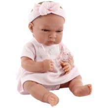 Кукла-младенец ANTONIO-JUAN Фиона в розовом, 33 см (6027P)