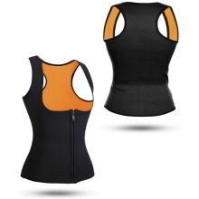 Фитнес-корсет для похудения CLEVERCARE женский, L, черный/оранжевый (PC-05LO)
