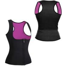 Фитнес-корсет для похудения CLEVERCARE женский, L, черный/розовый (PC-05LP)