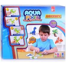 Мозаика 1toy Aqua Pixels: Динопарк, 780 деталей (Т13066)