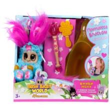 Мягкая игрушка Bush baby world Пушастики: Принцесса Блоссом, 18,5 см (Т16321)
