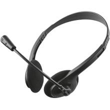 Наушники с микрофоном Trust Primo Chat Headset (21665)