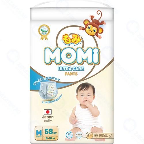 Подгузники MOMI Ultra Care, M 6-10 кг, 58 шт (4903720-011799)