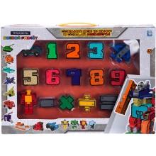 Траснбот 1toy Боевой расчет, 15 роботов (Т16430)