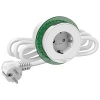 Блок розеточный SCHNEIDER-ELECTRIC 2К+З, белый (INS44000)