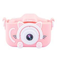 Цифровой фотоаппарат Rekam iLook K390i Pink