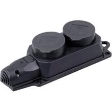Розетка переносная Smartbuy SBE-16-2-00-R