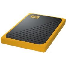 Твердотельный накопитель WD My Passport Go 500GB Amber (WDBMCG5000AYT-WESN)