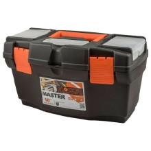 Ящик для инструментов Blocker Master 16'', черный/оранжевый (BR6004ЧРОР)