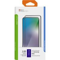 Защитное стекло с рамкой 2.5D InterStep для Samsung A02s, черная рамка (IS-TG-SAMA02SV2-02AFB0-ELGD00)
