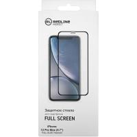 Защитное стекло RED-LINE для iPhone 12 Pro Max, черное (УТ000021879)